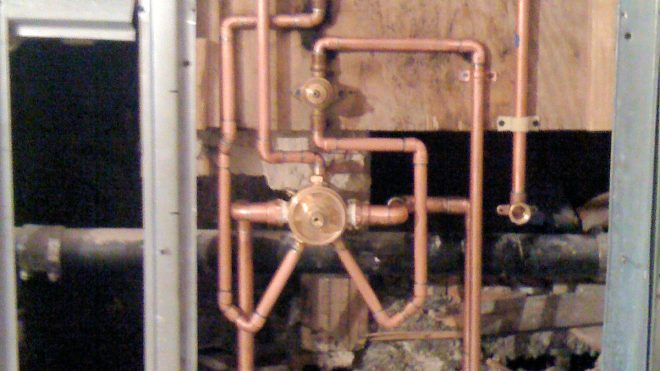 Plumbing work done by JPI Plumbing and Heating, Inc.