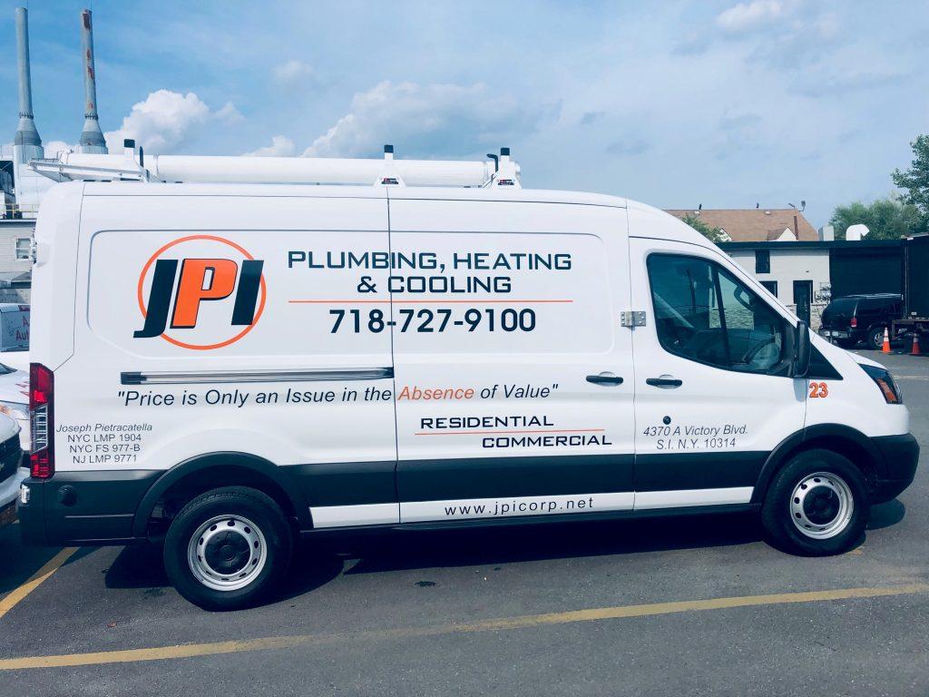 JPI Plumbing and Heating, Inc. Truck photo